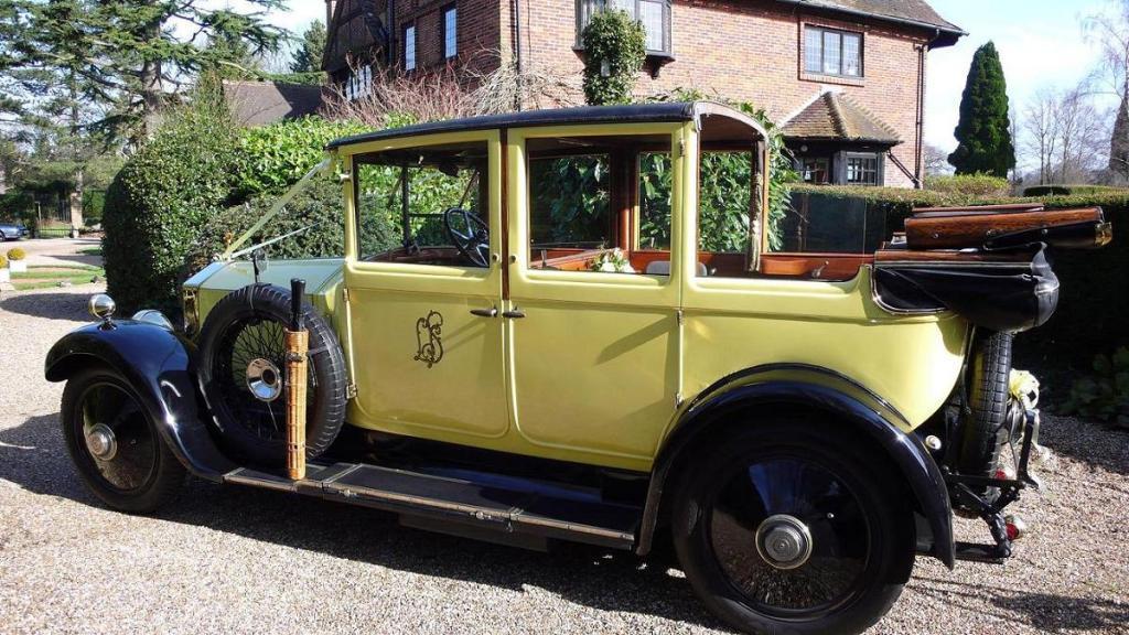 Vintage Rolls Royce Wedding Car Wedding Car Hire In